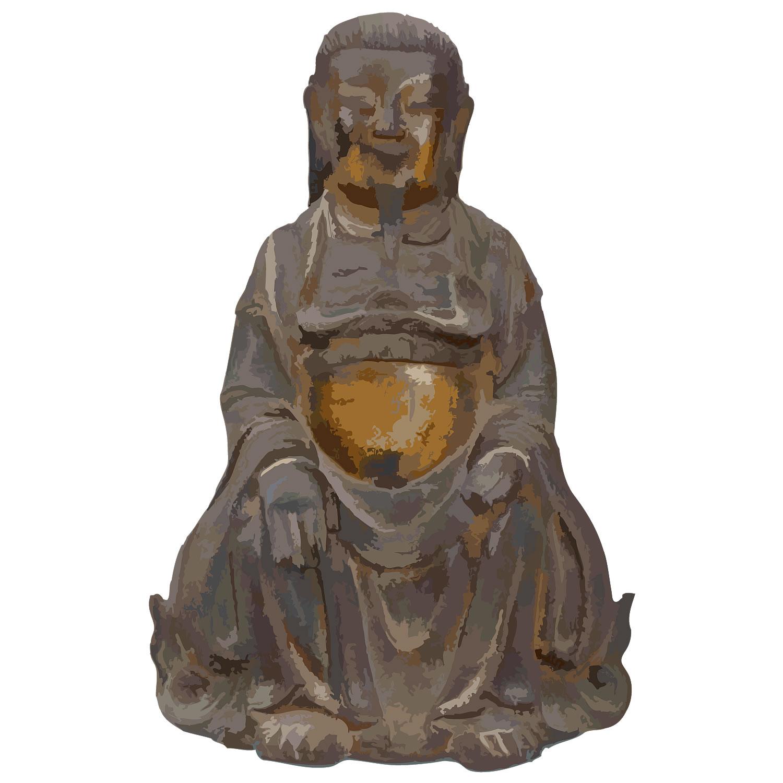 「明時代の古銅坐像」200,000円!